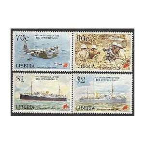Libeeria - 50 a. II maailmasõja lõpust, **