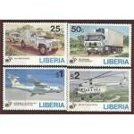 Libeeria - autod ja lennukid, MNH