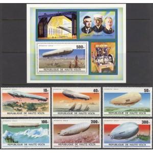 Ülem-Volta - zeppelinid 1976, **