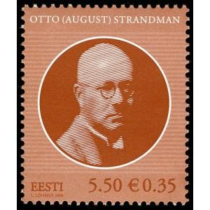 Eesti - 2008, Otto Strandman, **