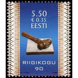 Eesti - 2009, Riigikogu 90, **