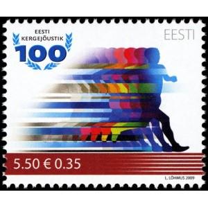 Eesti - 2009, Eesti kergejõustik 100, **