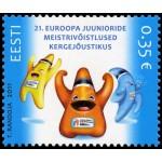 Eesti - 2011, EM kergejõustikus juunioridele, **