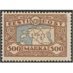 1924 Eesti kaart 300 marka, (MLH)