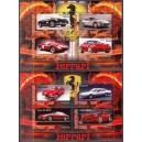 Tchad - autod, Ferrarid 2013, 2 plokki**