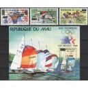 Mali - Los Angeles 1984 olümpia, ületrükk **