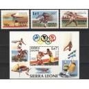 Sierra Leone - Los Angeles 1984 olümpia, **