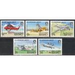 Alderney - lennukid 1985, **