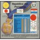 Paraguay - Sapporo 1972 medalivõitjad riigid, **