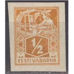 Eesti 1923, Kangur ½ M, lõigatud (MLH) *