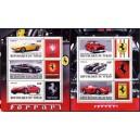 Tchad - autod, Ferrarid 2011, 2 plokki**