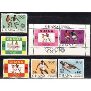 Ghana - München 1972 olümpia, **