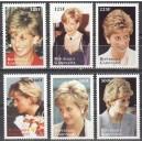 Gabon - printsess Diana 1998, **