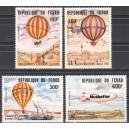 Tchad - 200 a. õhusõitu, õhupallid 1983, **