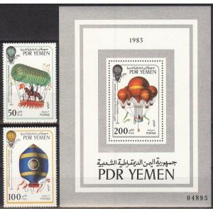 Lõuna-Jeemen - 200 a. õhusõitu, õhupallid 1983, **