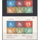 Liibüa - Tokyo 1964 olümpia, **