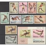 Burundi - Tokyo 1964 olümpia, **