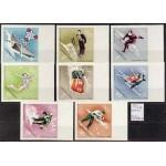 Ungari olümpia - Grenoble 1968, MNH lõigatud