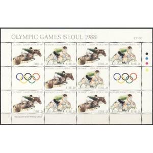 Iirimaa - Seoul 1988 olümpia, väikepoogen **