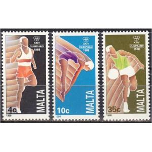 Malta - Seoul 1988 olümpia, **