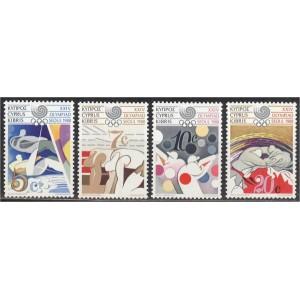 Küpros - Seoul 1988 olümpia, **