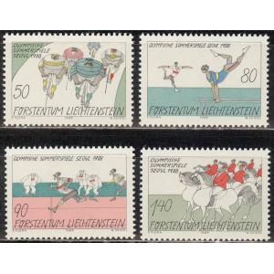 Liechtenstein - Seoul 1988 olümpia, **