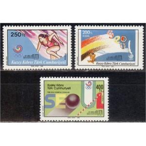 Põhja-Küprose Türgi - Seoul 1988 olümpia, **