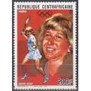 Kesk-Aafrika Vabariik - tennis, Steffi Graf 1988, **