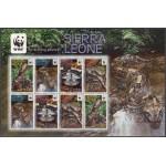 Sierra Leone - roomajad WWF 2011, väikepoogen **