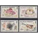 Prantsuse Polüneesia - kalad 1962, **
