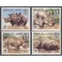 Swaziland - loomad WWF 1987, **