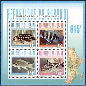 Burundi - kalad 1996, **
