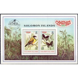 Solomon Islands - fauna, jõulud 1997, **