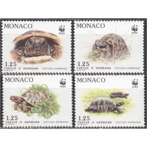 Monaco - kilpkonnad WWF 1991, **