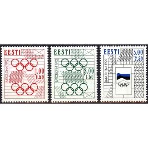 Eesti - Barcelona 1992 olümpia, **