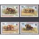 Kampuchea - fauna WWF 1997, **