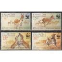 Kasahstan - loomad WWF 2001, **