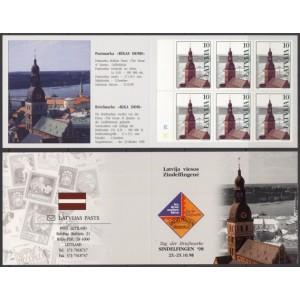 Läti - Riia Toomkirik 1998, margivihik **