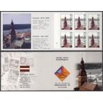 Läti - Riia Toomkirik 1998, margivihik MNH