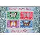 Malawi - liblikad 1973, **