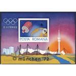 Rumeenia - München 1972 olümpia, plokk **
