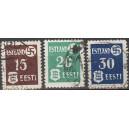 Eesti 1941, haakrist ja Eesti vapp I, templiga