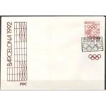 1992 Barcelona olümpia, FDC puhas