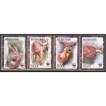 Burundi - loomad WWF 2004, **