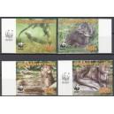Cote D´Ivoire - loomad WWF 2005, lõigatud **