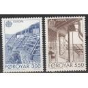 Fääri saared - Europa 1987, arhitektuur, **