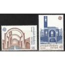 Andorra (hisp) - Europa 1987, arhitektuur, **