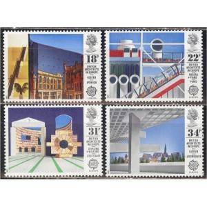 Inglismaa - Europa, arhitektuur 1987, **