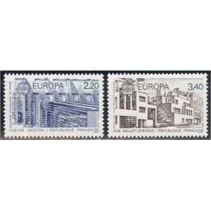 Prantsusmaa - Europa 1987, arhitektuur, **