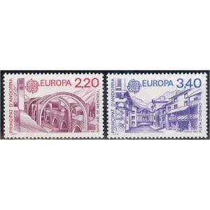 Andorra (prants) - Europa 1987, arhitektuur, **